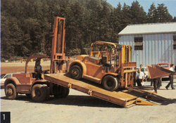 Hyster history forklift truck